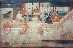 国指定文化財 紙本著色聖徳太子絵傳