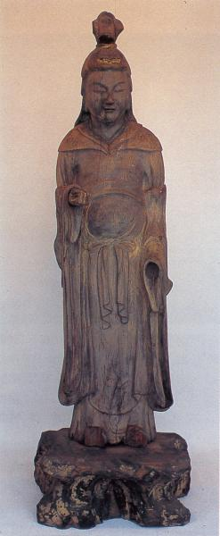 07木造吉祥天像