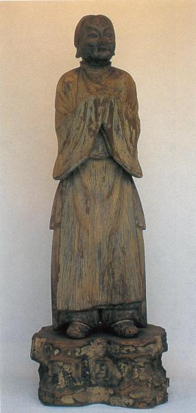 08木造善尼師童子像