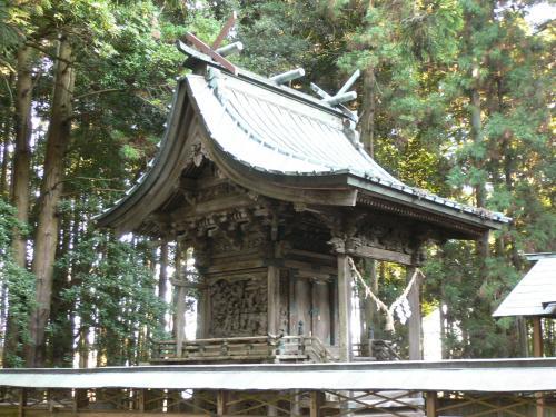 32駒形神社本殿