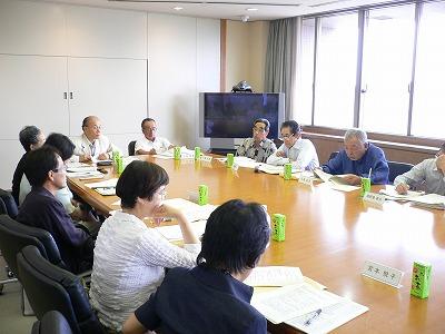 協働のまちづくり検討委員会 会議風景