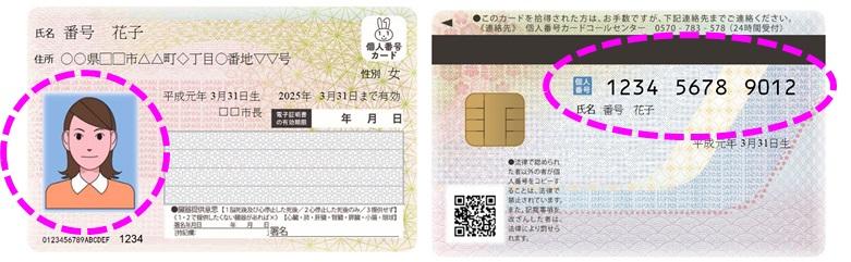 『個人番号カード』の画像