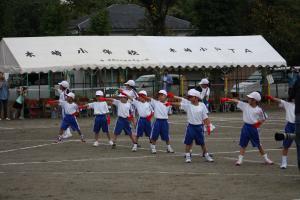 木崎小運動会国体ダンス1