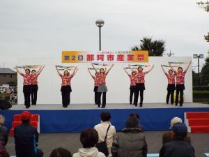 3B体操ステージ発表