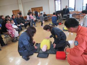 飯田自治会防災訓練2