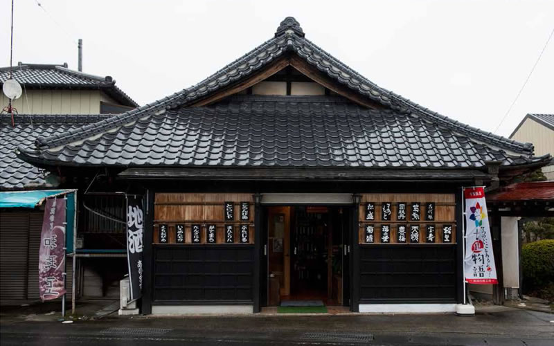 昭和初期から続く一軒の商店