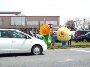 春の交通安全運動2