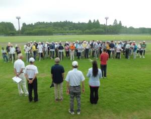 開会式(グラウンドゴルフ大会)