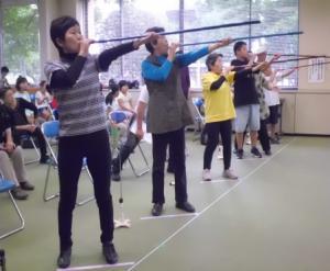 吹き矢(3)