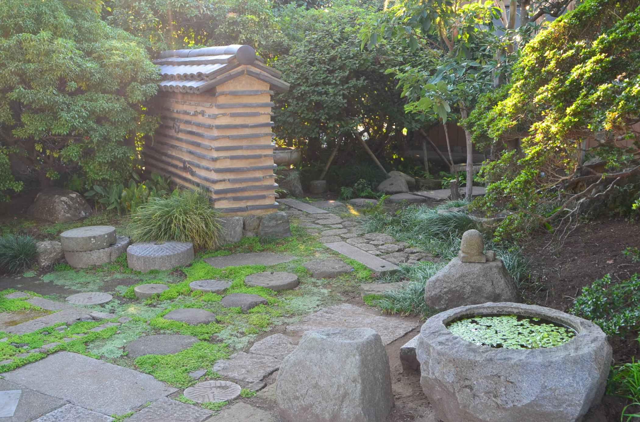 和のくらの日本庭園