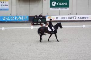 えひめ国体馬場馬術競技2