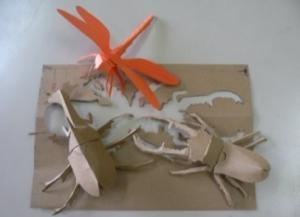 『h3005切り絵と霧折り紙(作品)』の画像