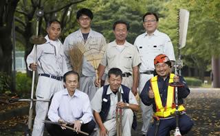環境緑化協同組合 集合写真