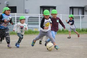 『サッカー教室!』の画像