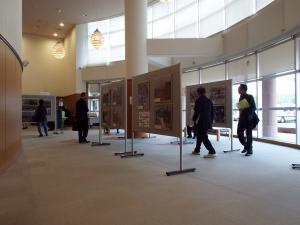 前回の茨城国体パネル展示の様子