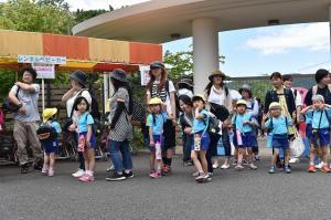 神峰動物園に到着