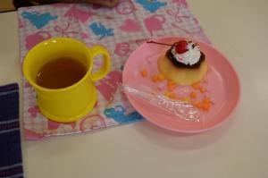 7月と8月のケーキ