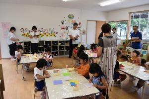 幼児教育訪問がありました
