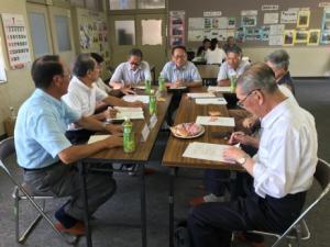 グループによる懇談会