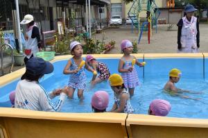 プール遊び7・3
