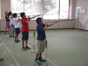 スポーツ吹き矢(3)