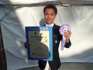 成年男子トップスコア競技7位増山大治郎さん