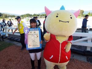 少年スピードアンドハンディネス競技7位尾野綺乃