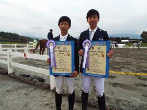 少年リレー競技7位鹿戸雄翔、中島双汰