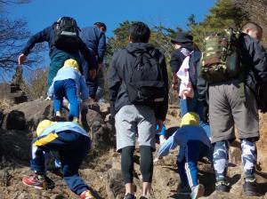 筑波山登山3