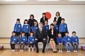年長・卒園記念写真