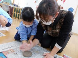 陶芸教室お皿作り