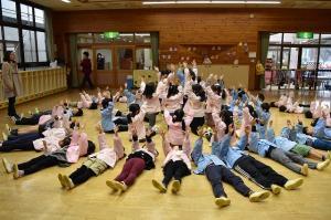 大成幼稚園の組体操