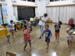 ゲームでダンス