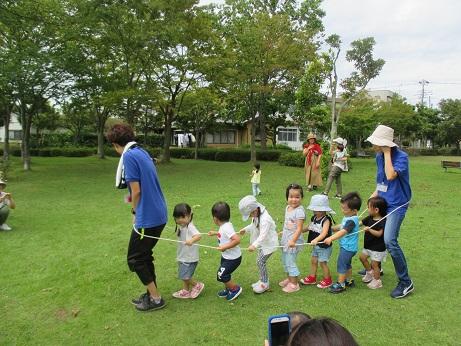 2019-9月ー2・3歳‐散歩(2)