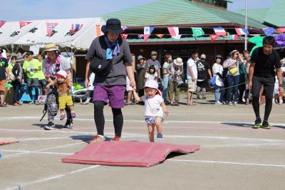 親子競技(0歳児)