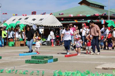 親子競技(1歳児)