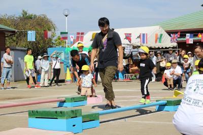 親子競技(2歳児)