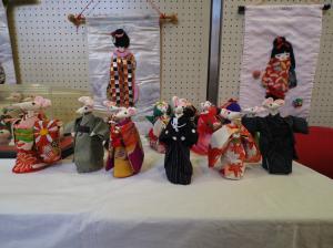 手工芸の展示
