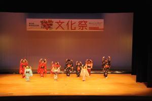 日本舞踊の発表