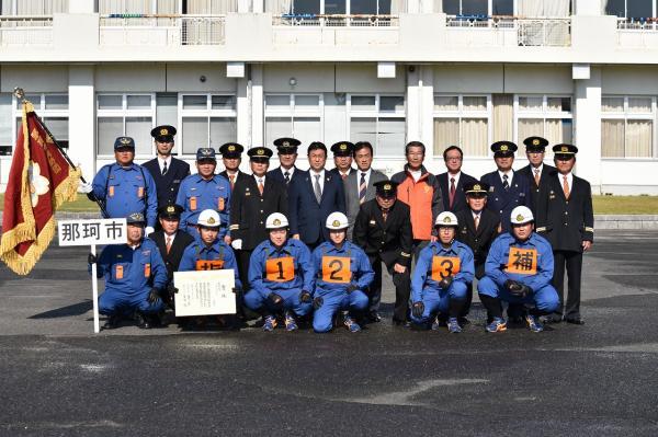 第27回消防操法大会集合写真