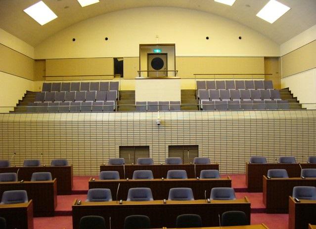 傍聴席の画像