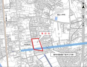 四中コミセン地図