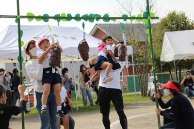 4歳児親子競技