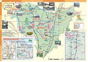 サイクリングマップ裏