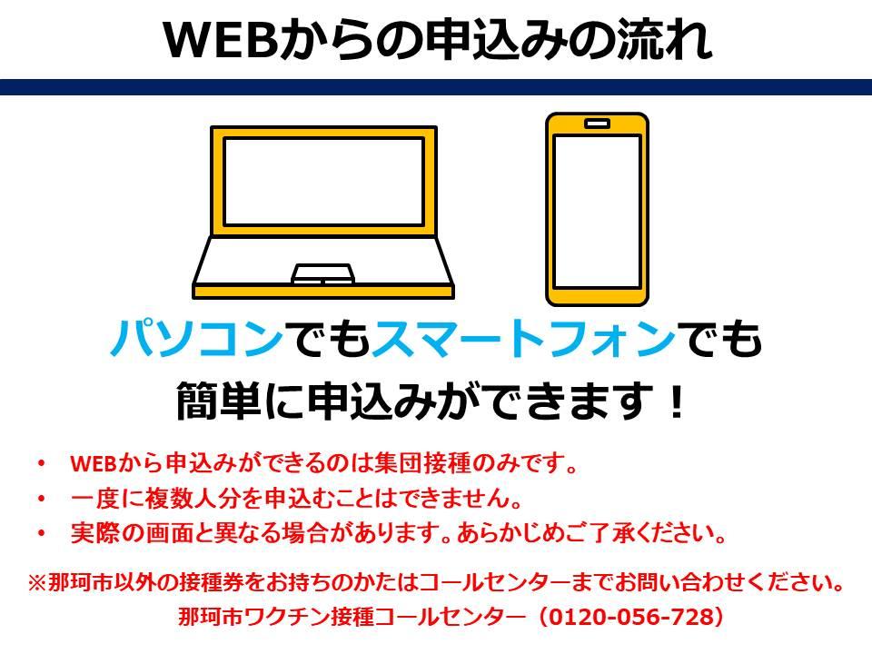 WEB申込みの流れ1