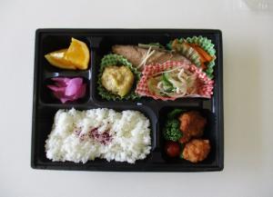 本日のお弁当.