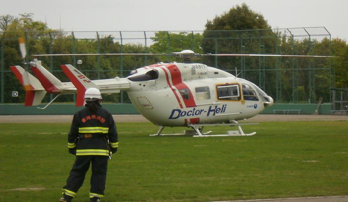 ドクターヘリコプター画像