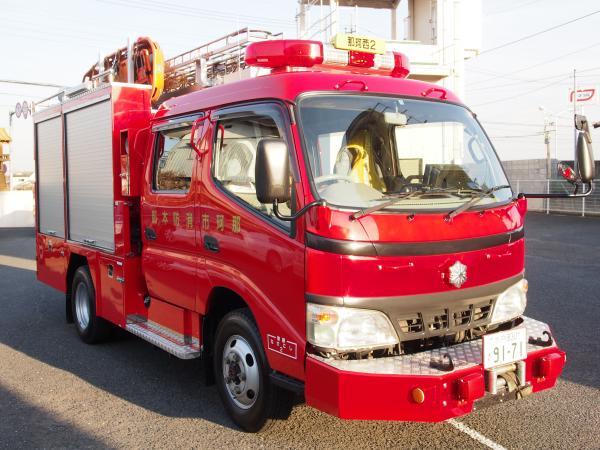 西消防2号車