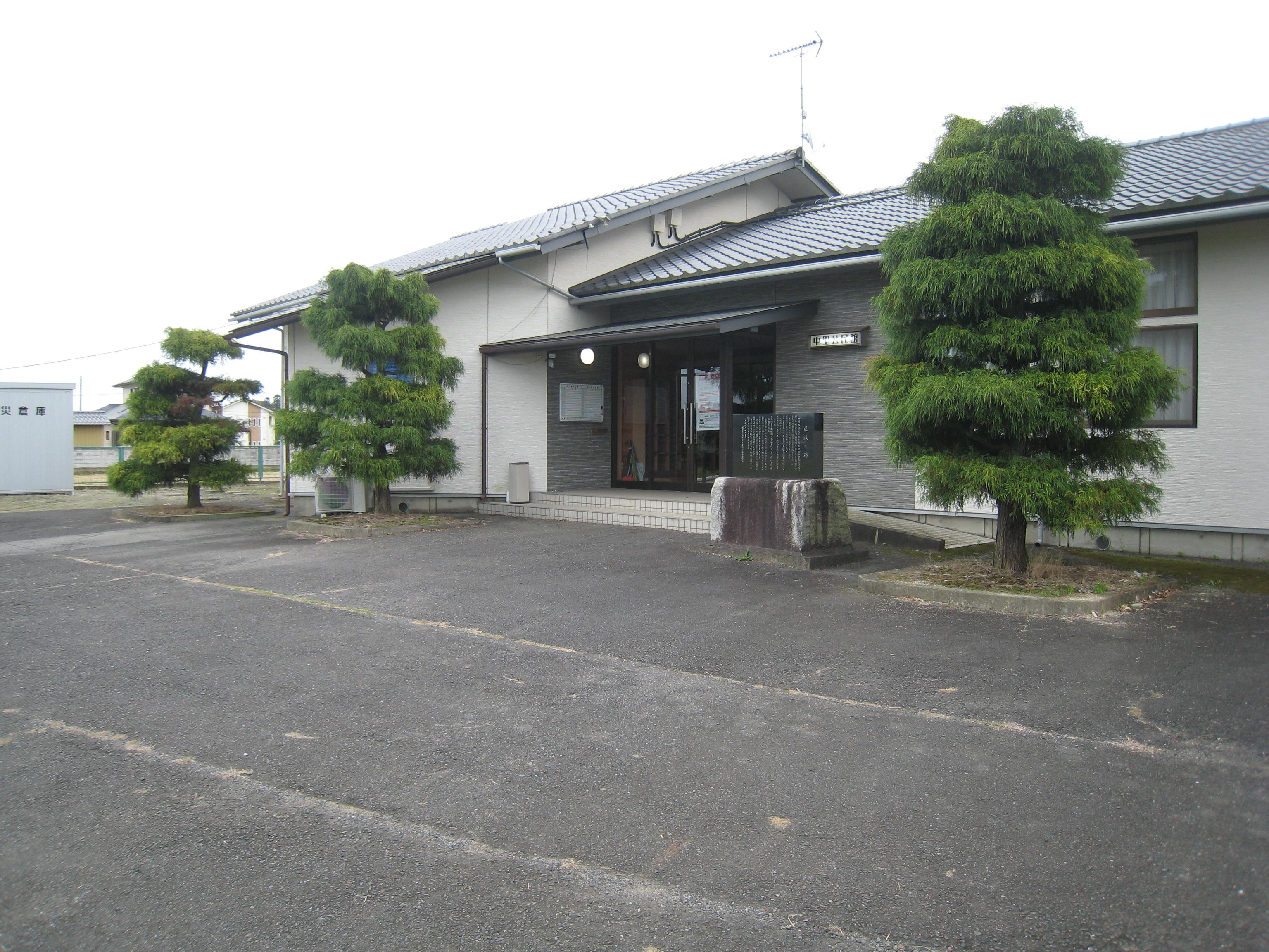 施設:㉓瓜連第2投票区 中里公民館