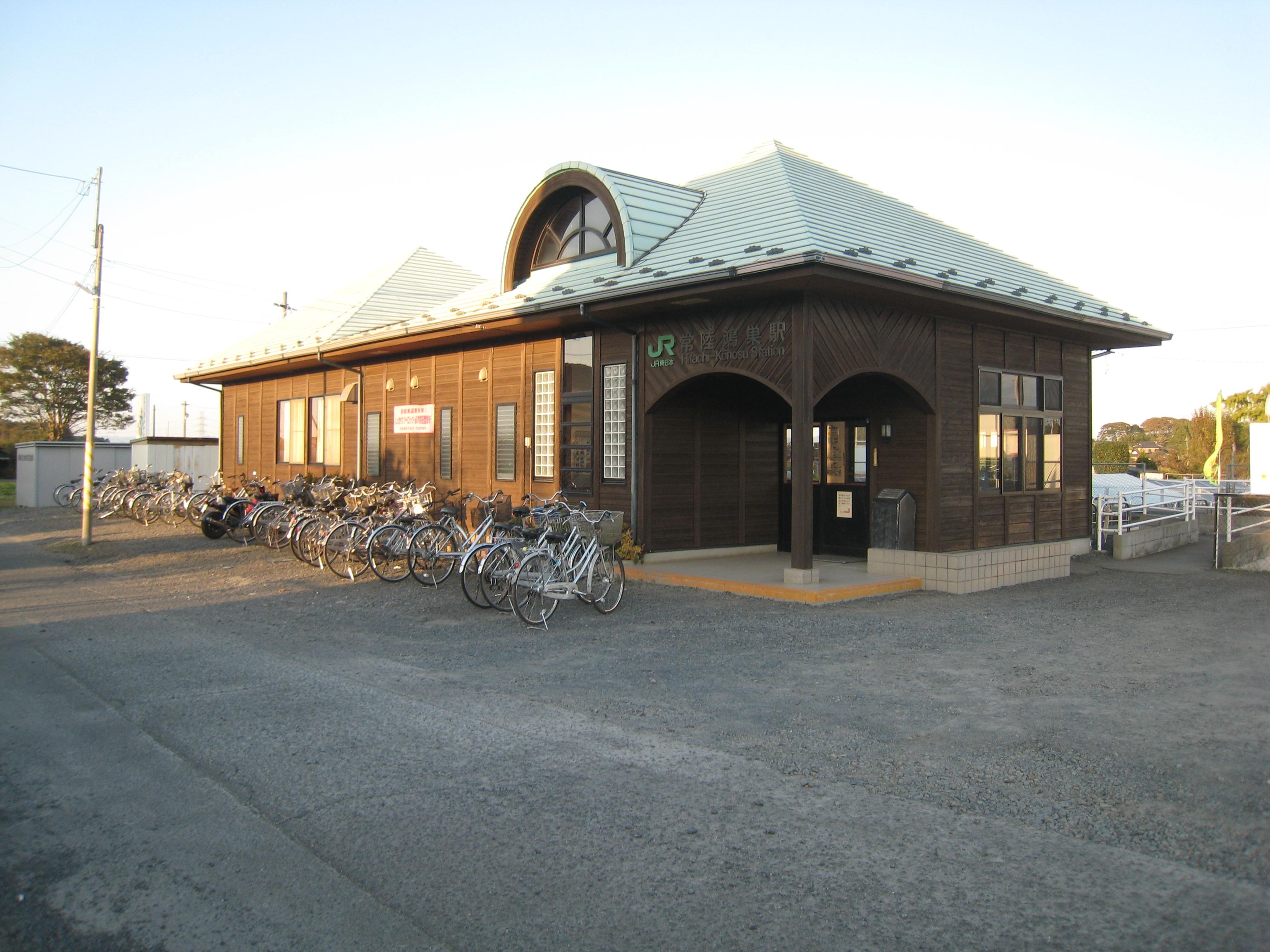 施設:⑱芳野第2投票区 常陸鴻巣駅ふれあい駅舎